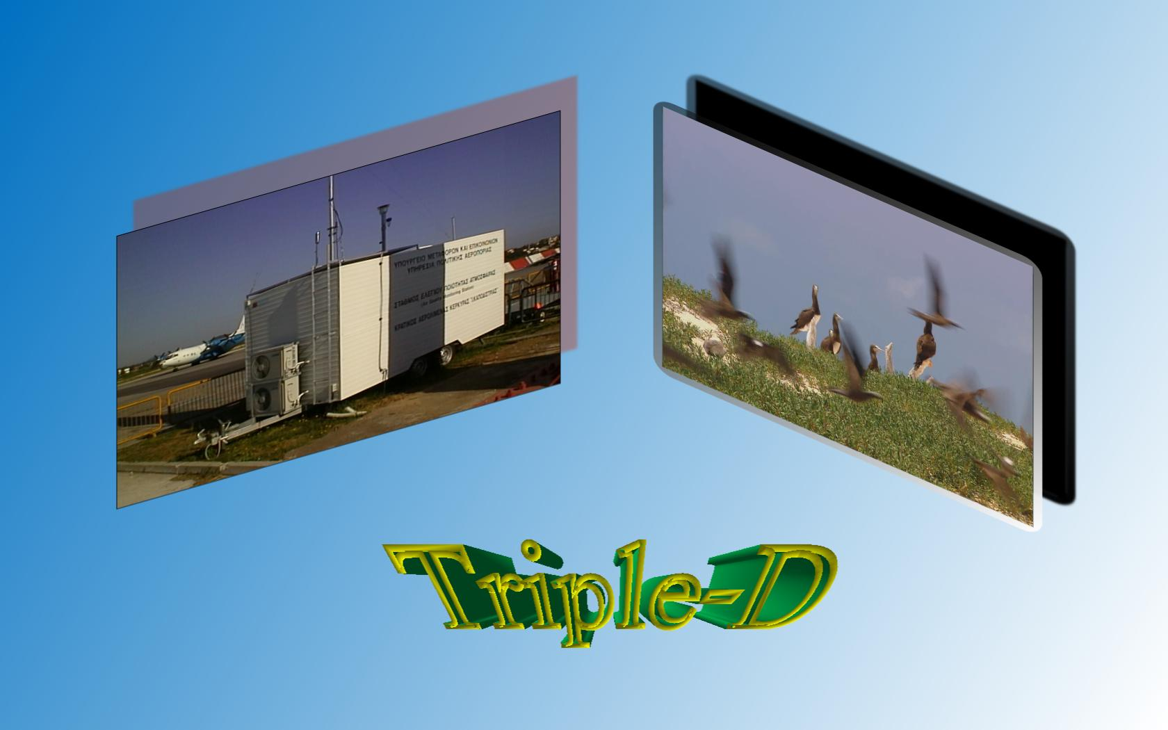 Envitech Triple-D Multimedia - Example for Image, Video File and 3D Text